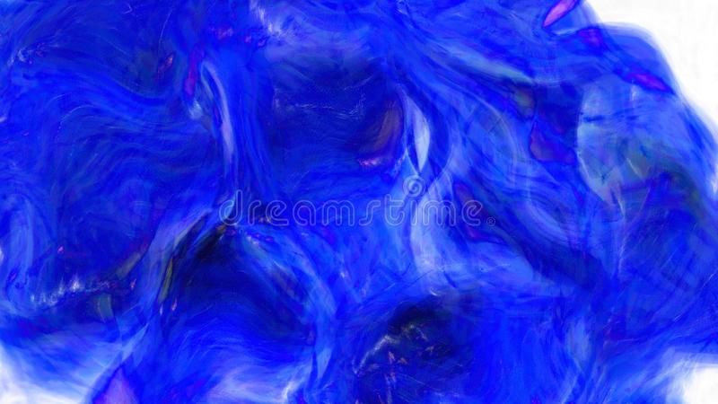 Kobalt błękitne wody tła graficznej sztuki projekta Piękny elegancki Ilustracyjny tło ilustracja wektor