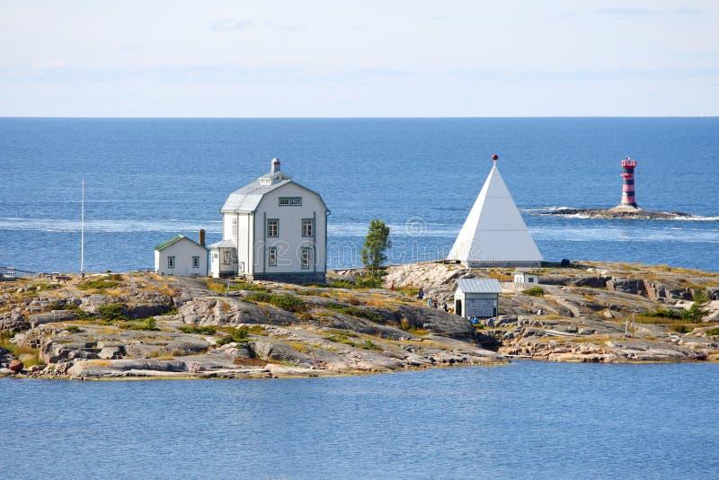 De archipel van de Eilanden van Aland, Kobba Klintar royalty-vrije stock afbeeldingen
