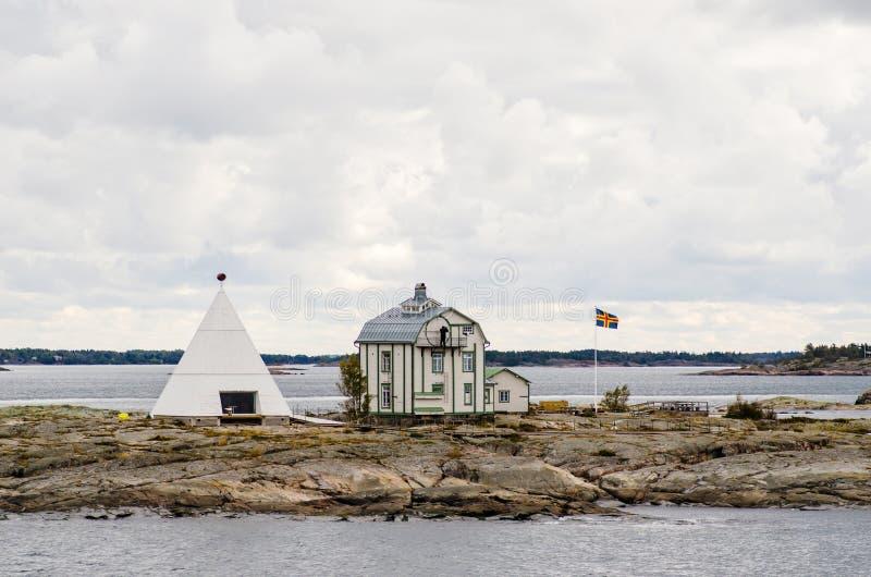 Kobba Klintar, ilhas de Aland fotografia de stock