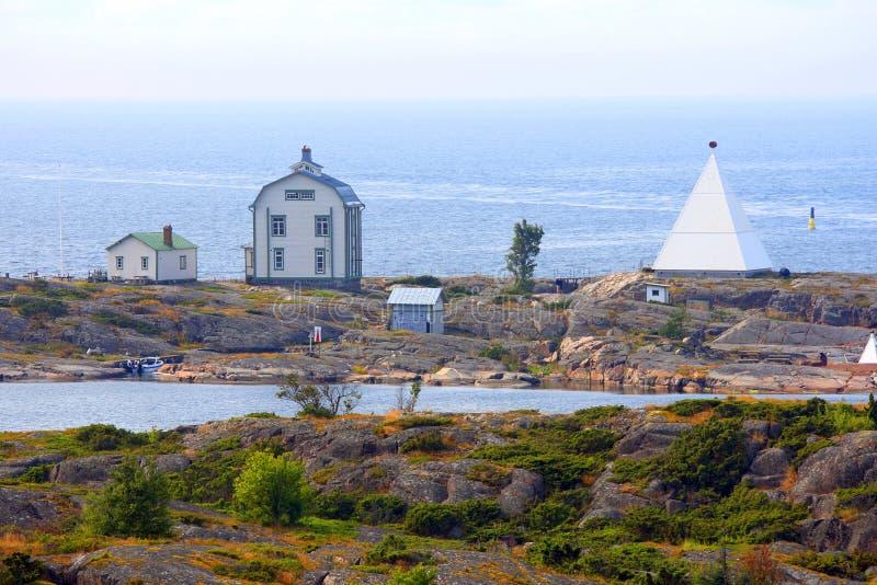 Kobba Klintar no arquipélago das ilhas de Aland imagens de stock royalty free