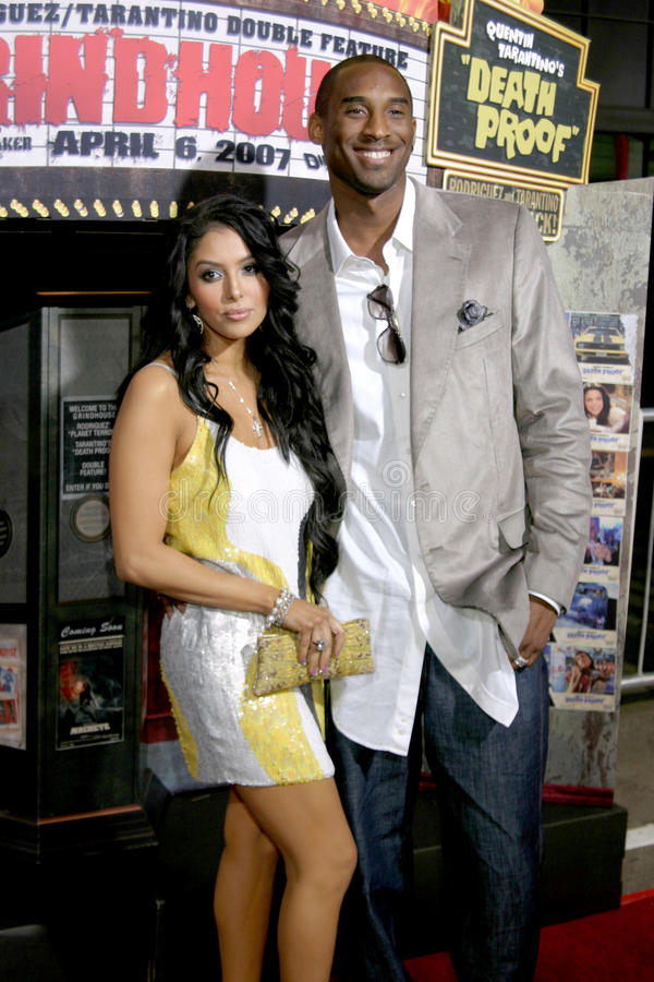 Kobe Bryant image libre de droits