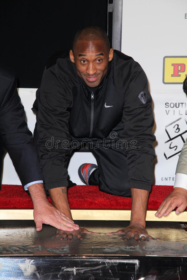 Kobe Bryant photographie stock libre de droits
