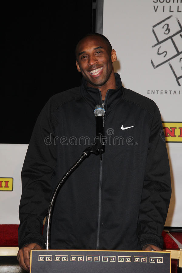 Kobe Bryant photo stock