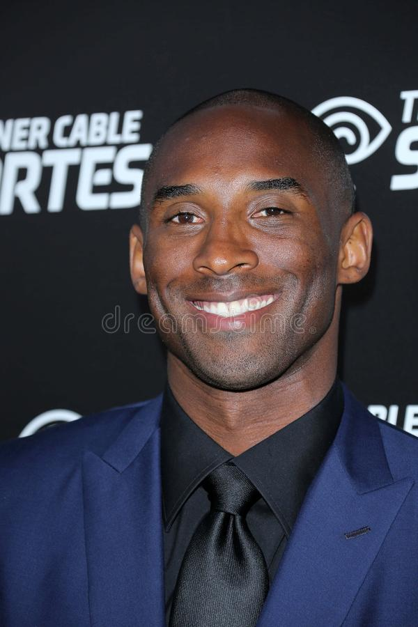 Kobe Bryant. At the Launch Of Time Warner Cable Sportsnet And Time Warner Cable Deportes Networks, Time Warner Cable Sports Studios, El Segundo, CA 10-01-12 stock photography
