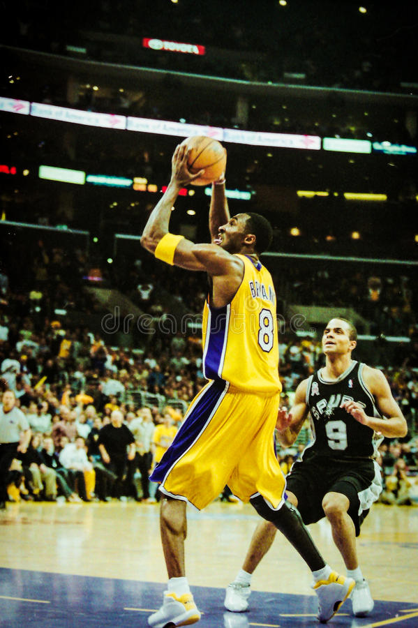 Kobe Bryant Los Angeles Lakers images stock