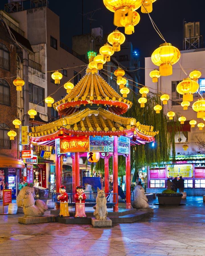 Kobe Chinatown stockfotografie