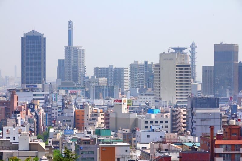 Kobe city, Japan. KOBE, JAPAN - APRIL 24, 2012: Skyline view of Kobe, Japan. Kobe is the 6th largest city of Japan, with population of 1.5m stock photos