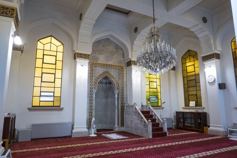 KOBE, GIAPPONE 10 NOVEMBRE 2018: Interno di Kobe Mosque a Kobe immagine stock