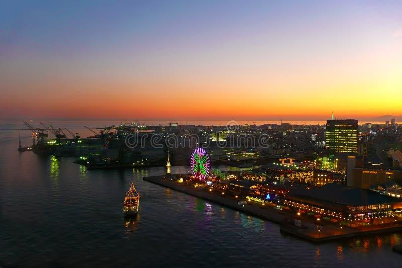 Kobe Harbor Night