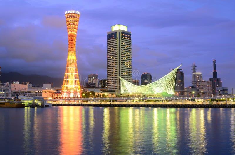 Kobe, Japan Skyline stock photo