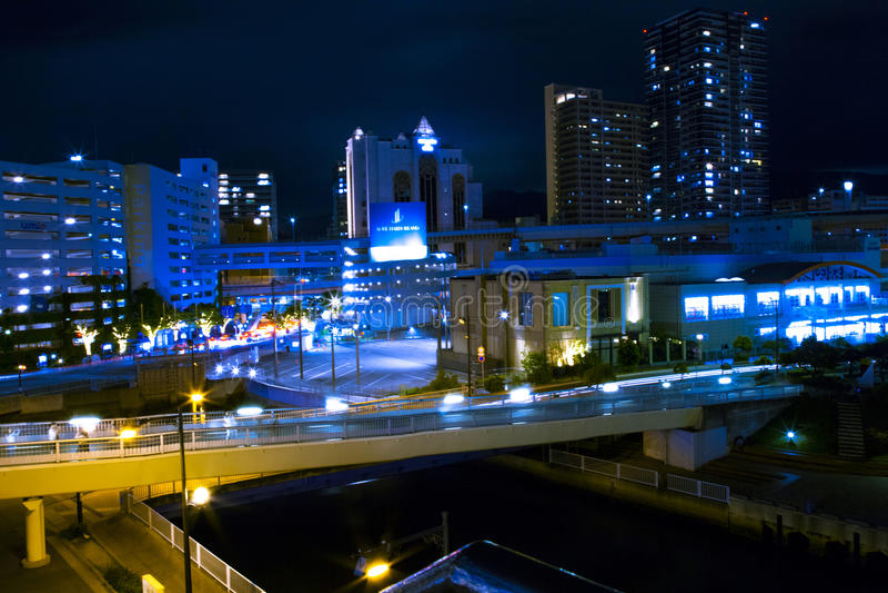 Kobe port royaltyfria foton
