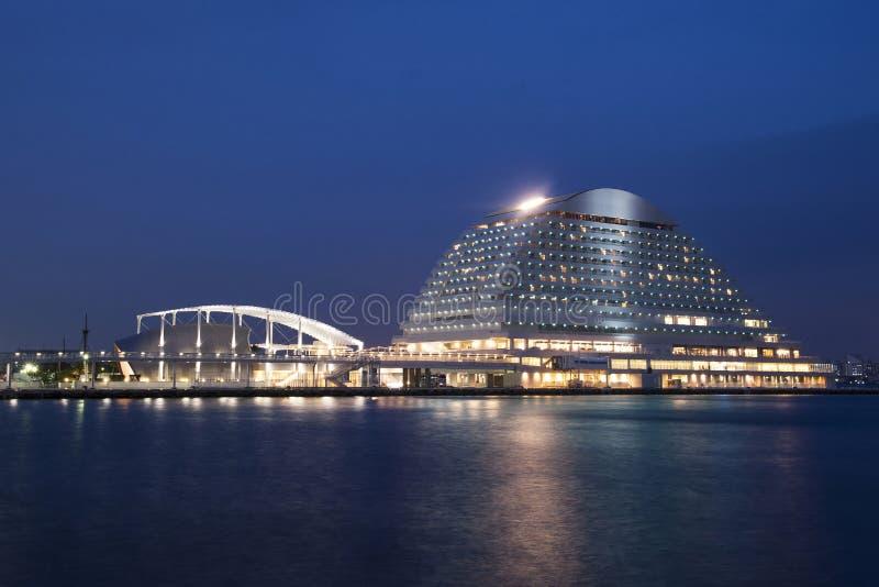 Kobe port i Japan arkivbilder
