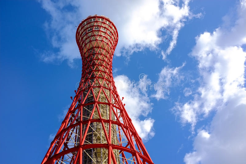 Kobe Tower, Giappone immagine stock libera da diritti