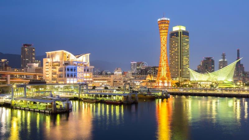 Kobe Tower Panorama stock fotografie