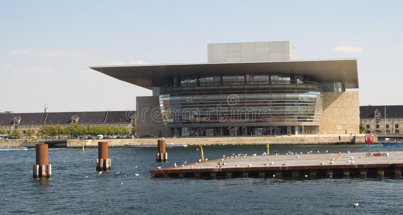 Kobenhavn operahus royaltyfri bild