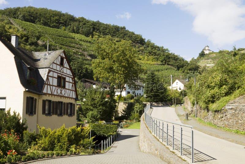 Kobern-Gondorf in Germania fotografia stock libera da diritti