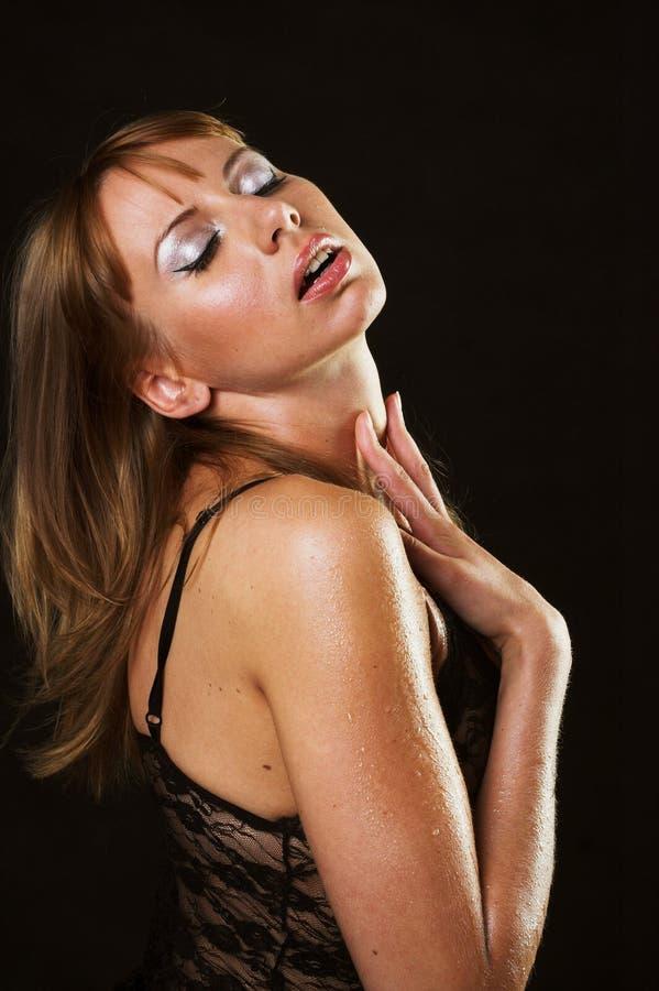 kobieca bielizna prowokacyjne erotyczna fotografia stock