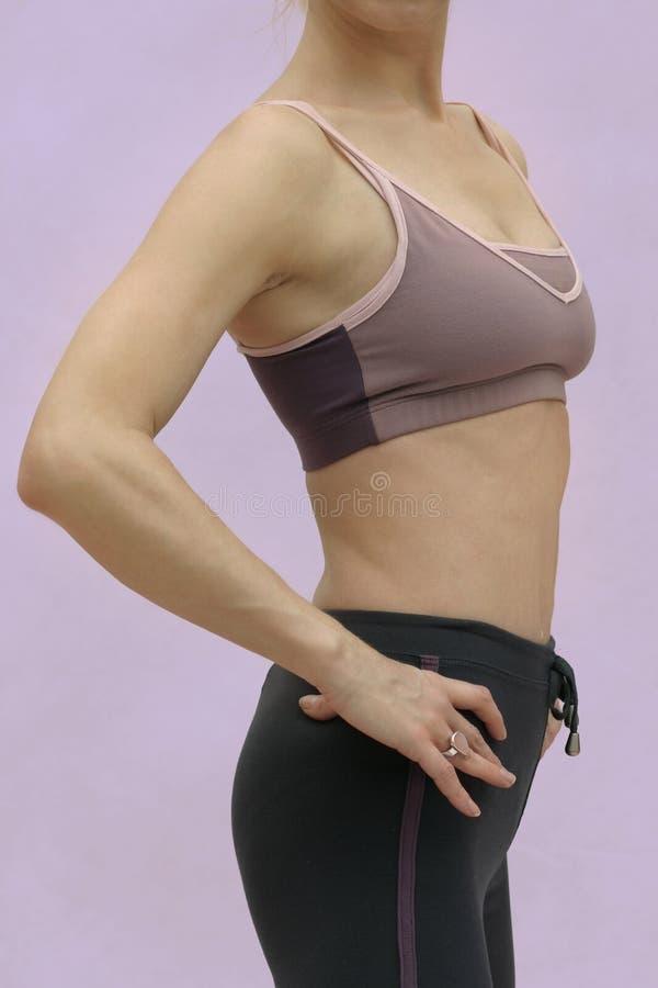 kobieca fitness zdjęcia stock
