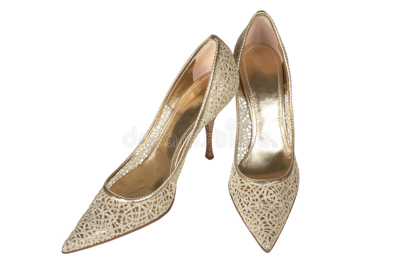 kobiece buty obraz royalty free