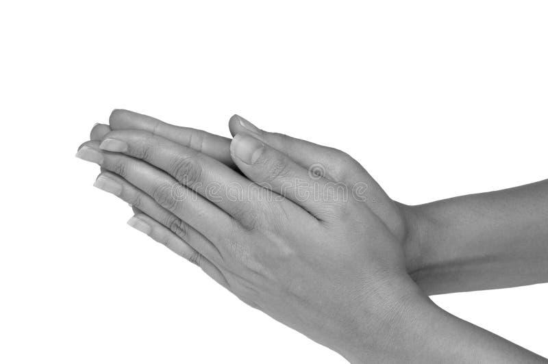 kobiece ręce fotografia royalty free