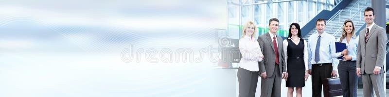 kobieciarz kawowa biznesowej megafonu zespołu fotografia royalty free