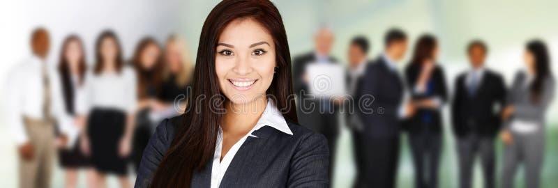 kobieciarz kawowa biznesowej megafonu zespołu obrazy royalty free