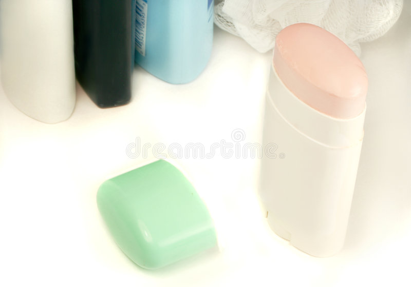kobiecy dezodorantem zdjęcia stock