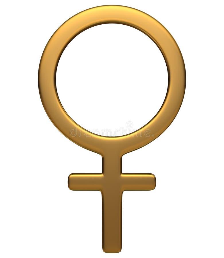 kobiecy symbol ilustracji