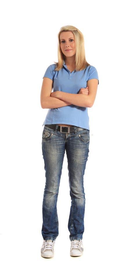 kobiet atrakcyjni potomstwa zdjęcie stock
