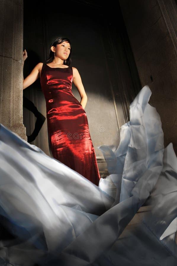 kobiet azjatykci piękni potomstwa obrazy stock