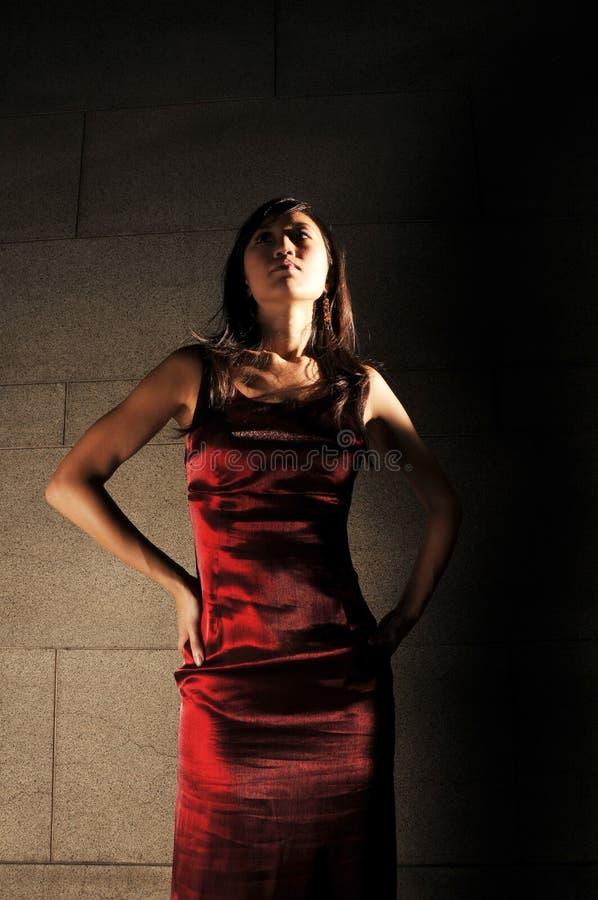 kobiet azjatykci piękni potomstwa zdjęcie stock
