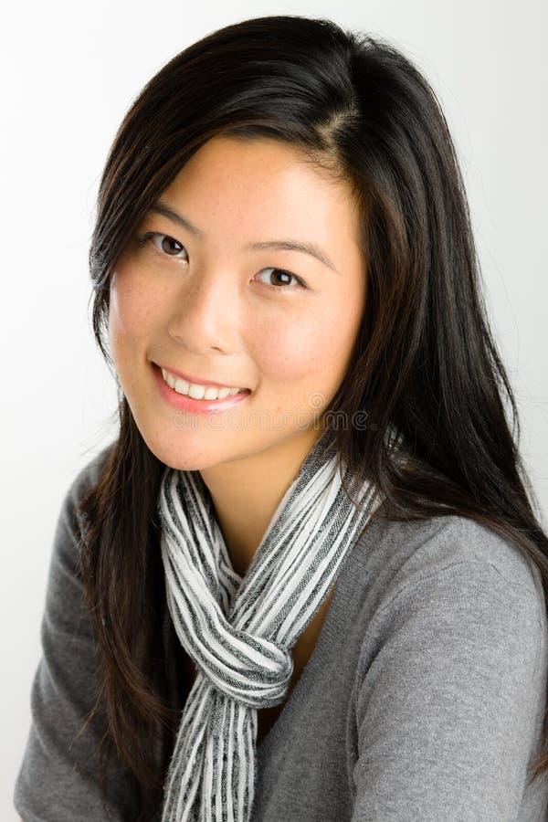 kobiet azjatykci potomstwa zdjęcia stock