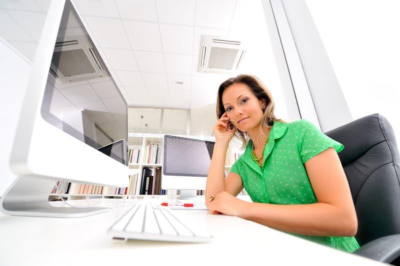 kobiet biurowi potomstwa obraz stock