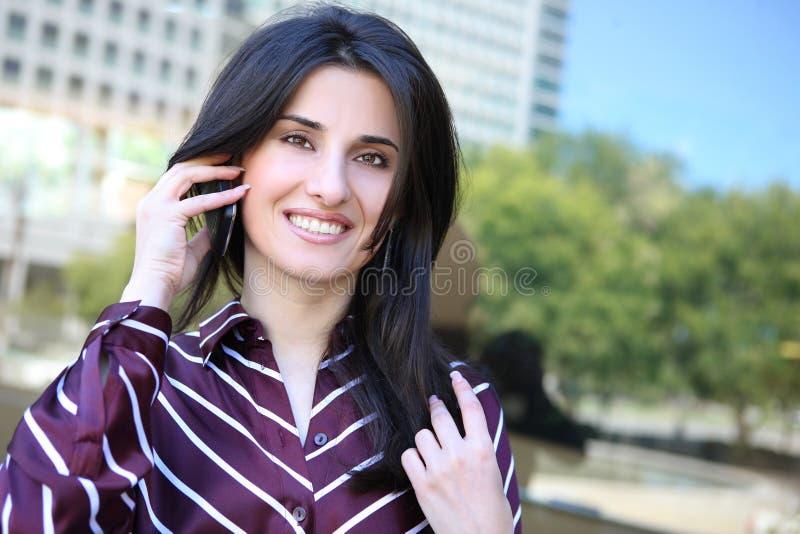 kobiet biznesowi ładni potomstwa obraz stock