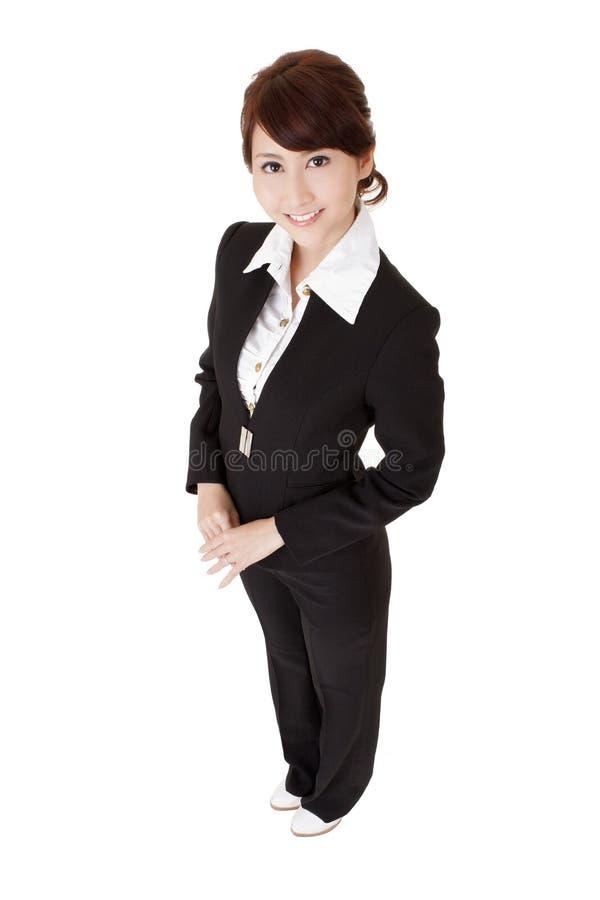 kobiet biznesowi japońscy potomstwa zdjęcie stock