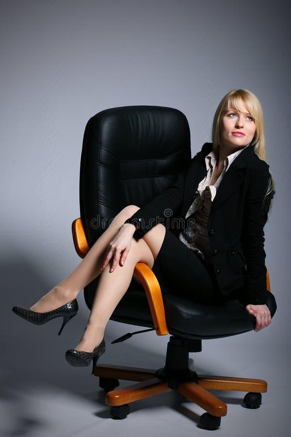 kobiet biznesowi seksowni potomstwa obraz stock