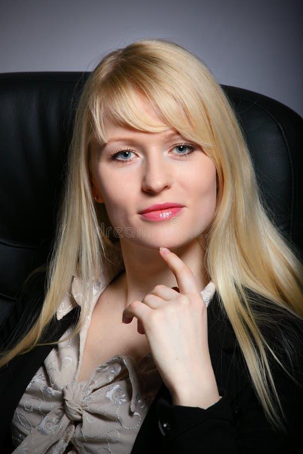 kobiet biznesowi seksowni potomstwa zdjęcie royalty free
