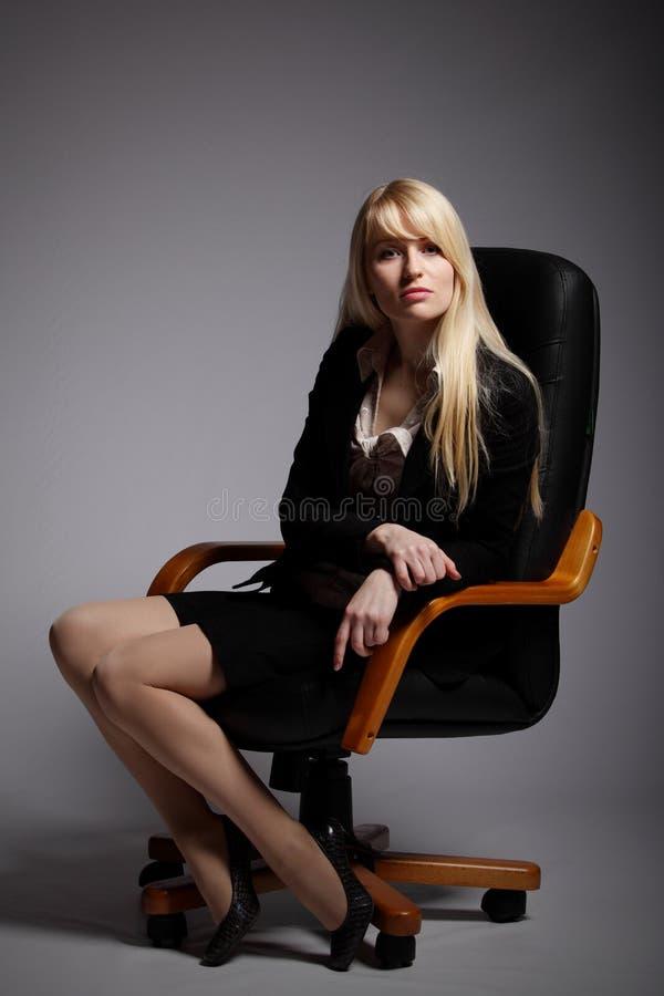 kobiet biznesowi seksowni potomstwa zdjęcia stock