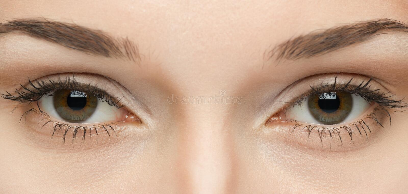 Kobiet oczy obraz stock