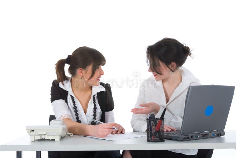 kobiet przedsiębiorstw do pracy obraz royalty free