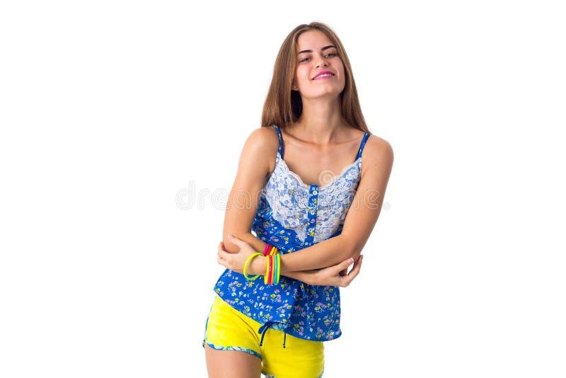 Kobiet ręk skrzyżowanie zdjęcia royalty free