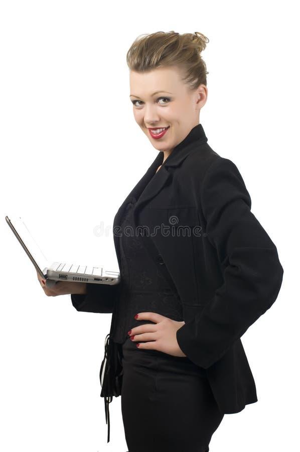 Download Kobiet trwanie potomstwa obraz stock. Obraz złożonej z szef - 13337761