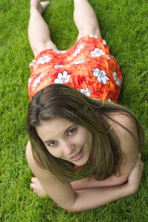 Download Kobieta zdjęcie stock. Obraz złożonej z ludzie, relaksuje - 128716