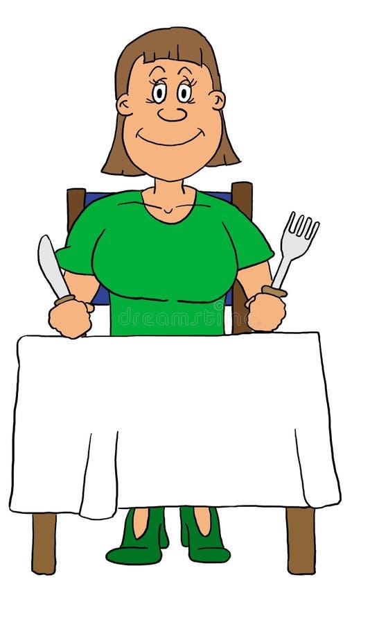 Download Kobieta ilustracji. Obraz złożonej z dziewczyna, rozwidlenie - 132190