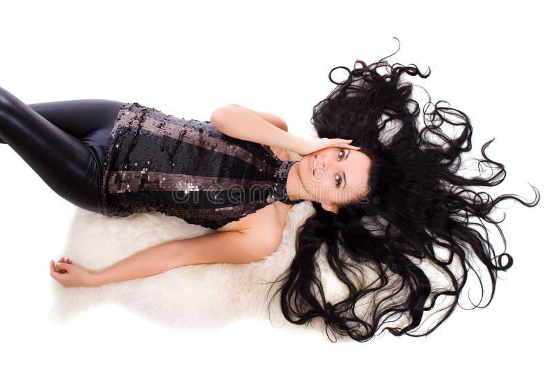 Download Kobieta zdjęcie stock. Obraz złożonej z splendory, brunet - 13337522