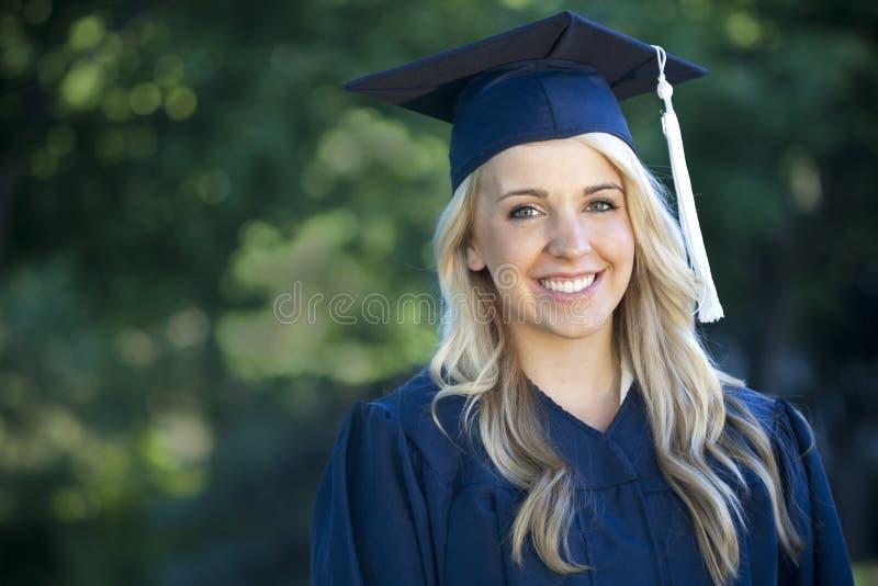 kobieta absolwent obraz royalty free