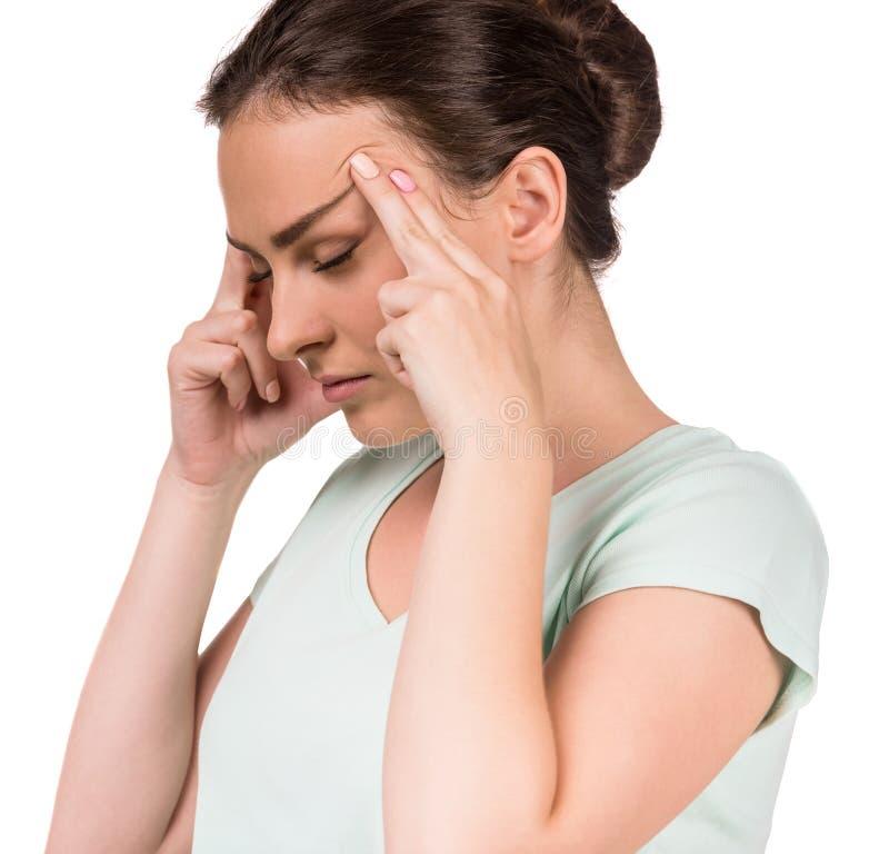 Kobieta ból obrazy stock