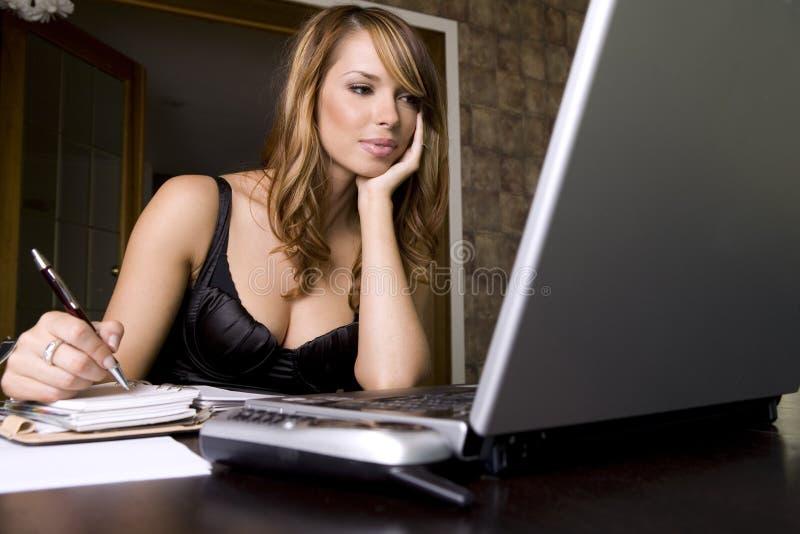 kobieta biurowych fotografia stock