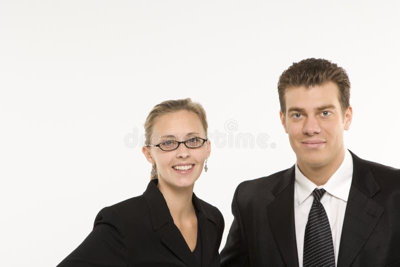 kobieta businesssman zdjęcie stock