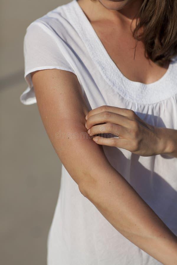 Kobieta chrobot obrazy stock